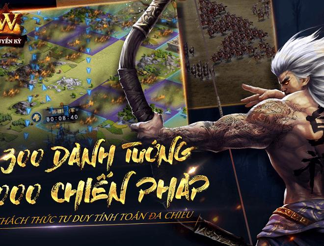 Chơi Row Tam Quốc Chí Truyền Kỳ VNG on PC 12