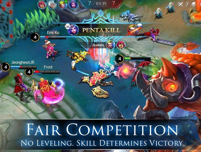 Jouez à  Mobile Legends: Bang bang sur PC 10