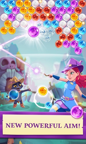 Chơi Bubble Witch 3 Saga on PC 3
