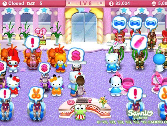 เล่น Hello Kitty Beauty Salon on PC 8