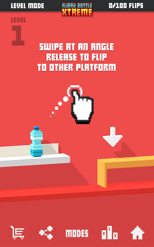 Играй Flippy Bottle Extreme! На ПК 6