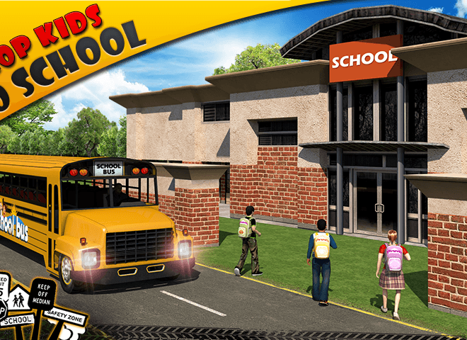 Play School bus Driver 3D on PC 4