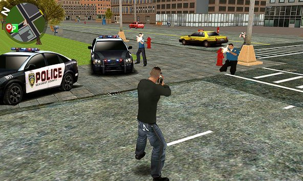 Play Vegas crime city on PC 4