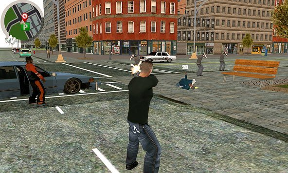 Play Vegas crime city on PC 2
