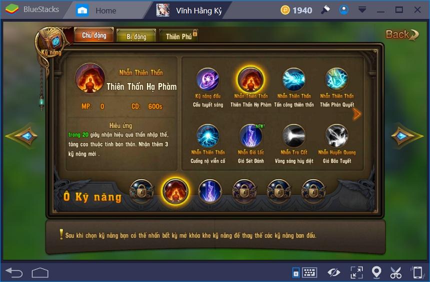 Cách chơi Vĩnh Hằng Kỷ Nguyên Mobile trên PC bằng BlueStacks
