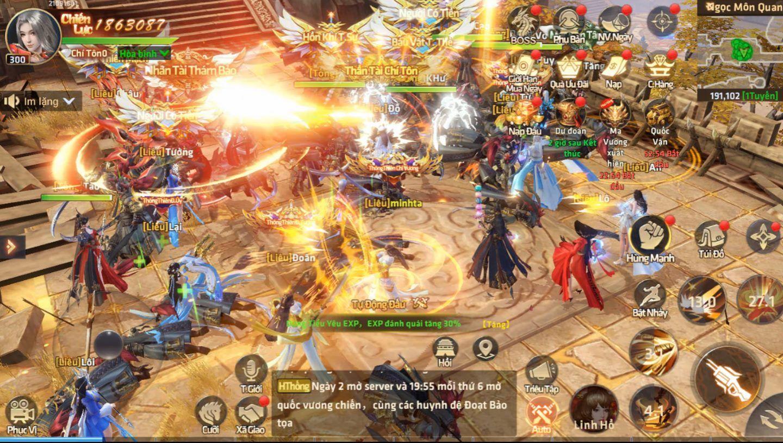 Viễn Chinh Mobile: Game nhập vai phong cách quốc chiến sắp phát hành