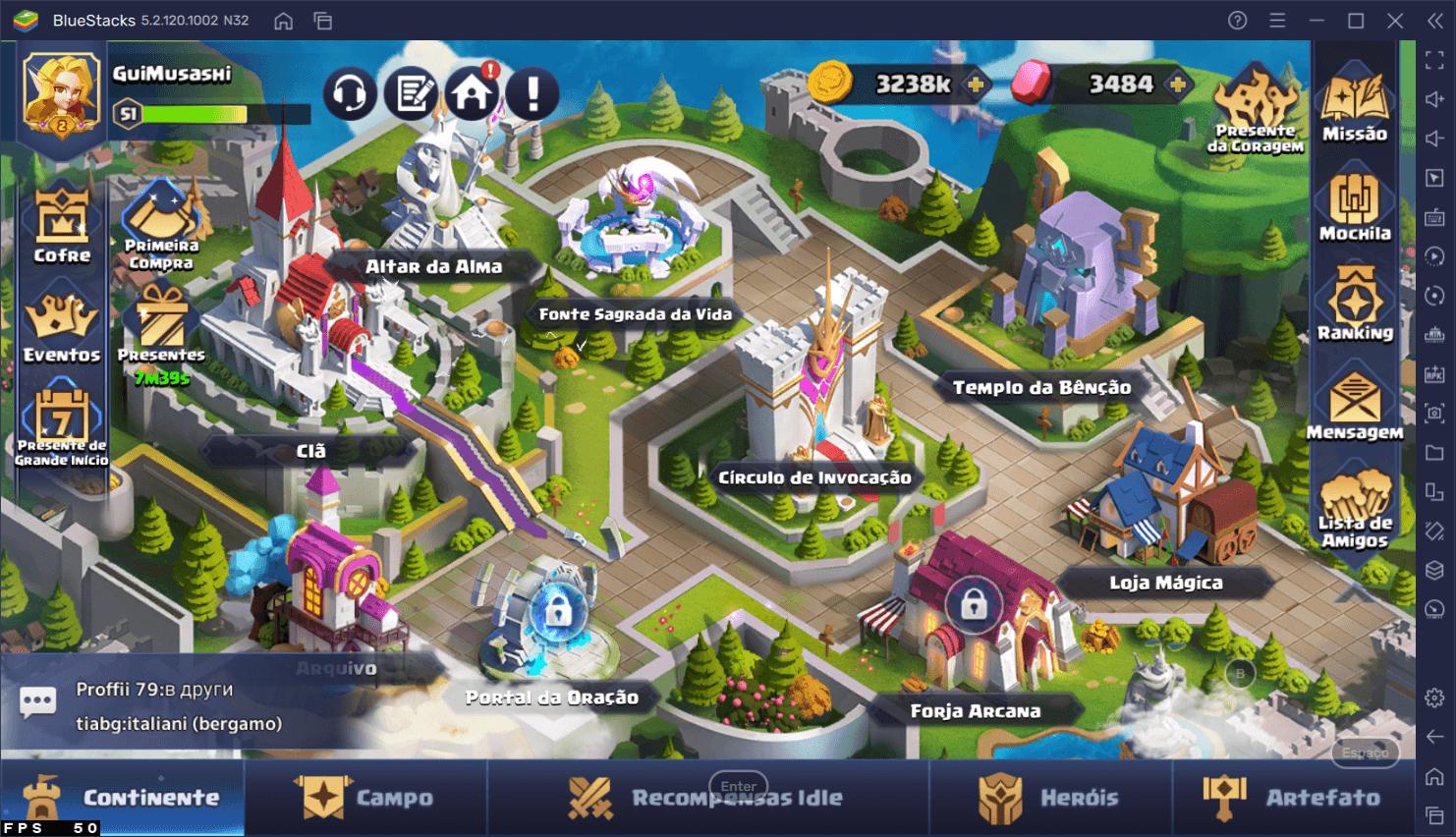 Guia de iniciantes de Valor Legends: Eternity