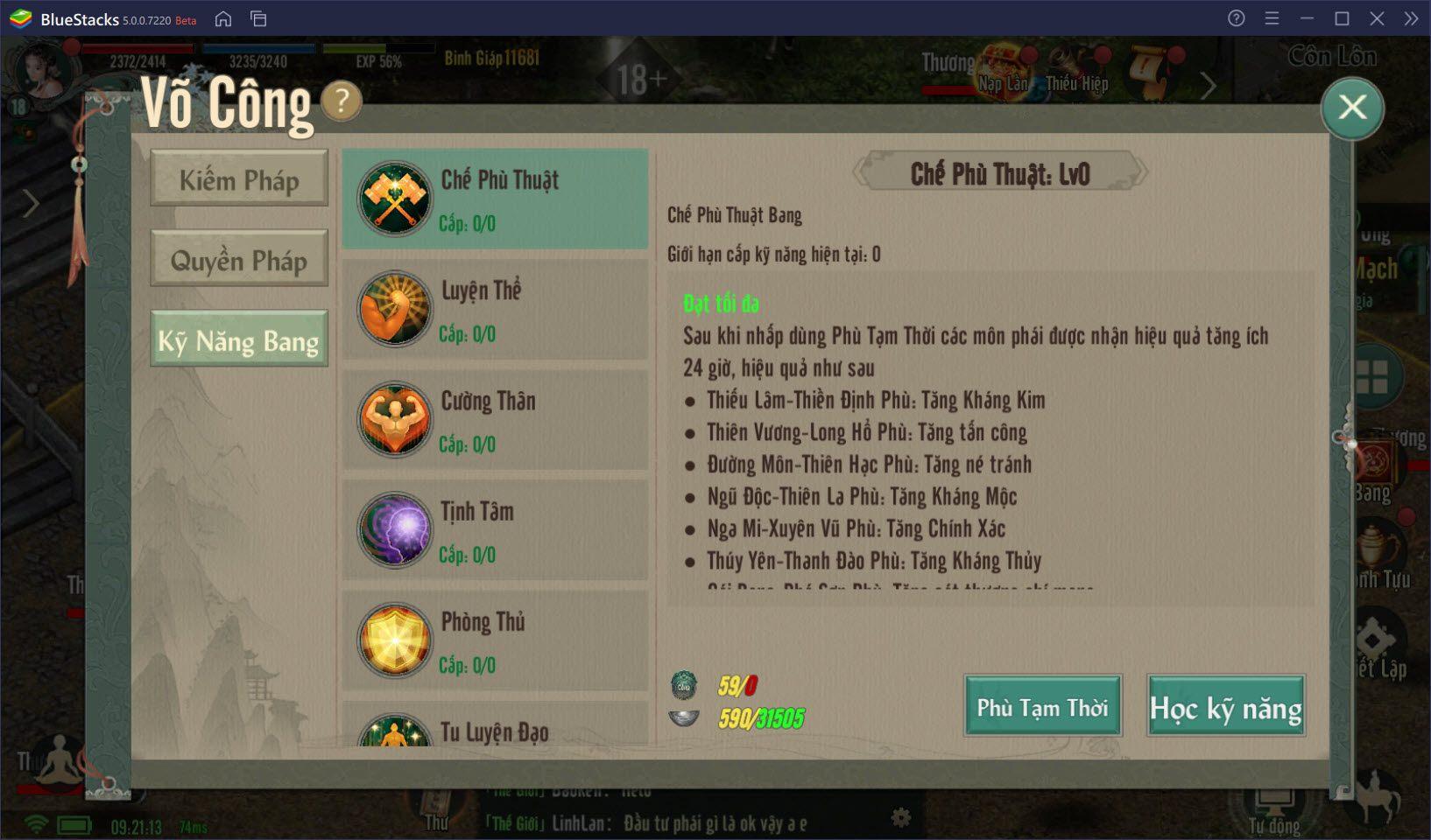 Tìm hiểu hệ thống nâng cấp nhân vật trong VLTK 1 Mobile