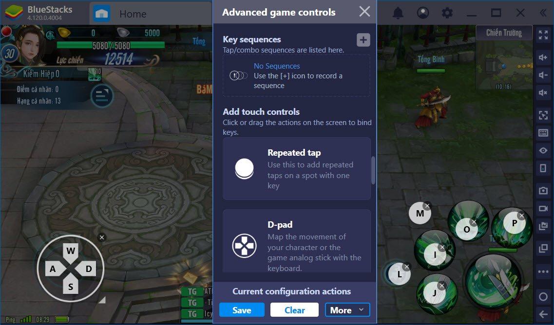 Tối ưu PVP với Game Controls trong VLTK Mobile