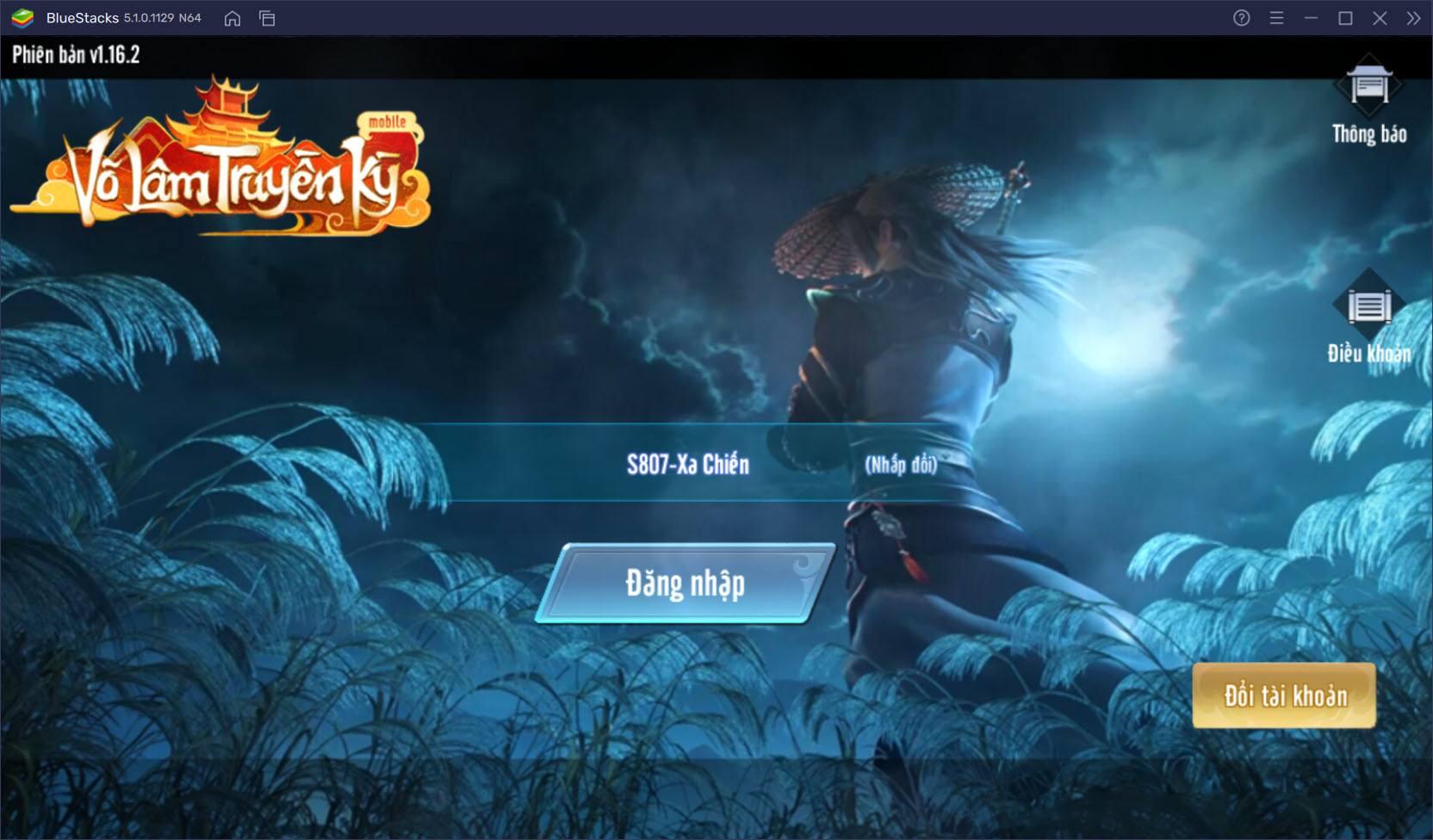 VLTK Mobile: Trải nghiệm môn phái mới Xung Tiêu trên PC với BlueStacks