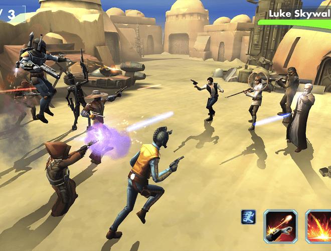 Играй Star Wars™: Galaxy of Heroes on pc 9