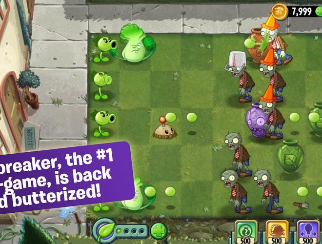 เล่น Plants vs Zombies 2 on pc 6