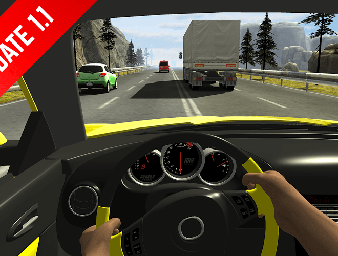 Play Racing in Car on pc 3