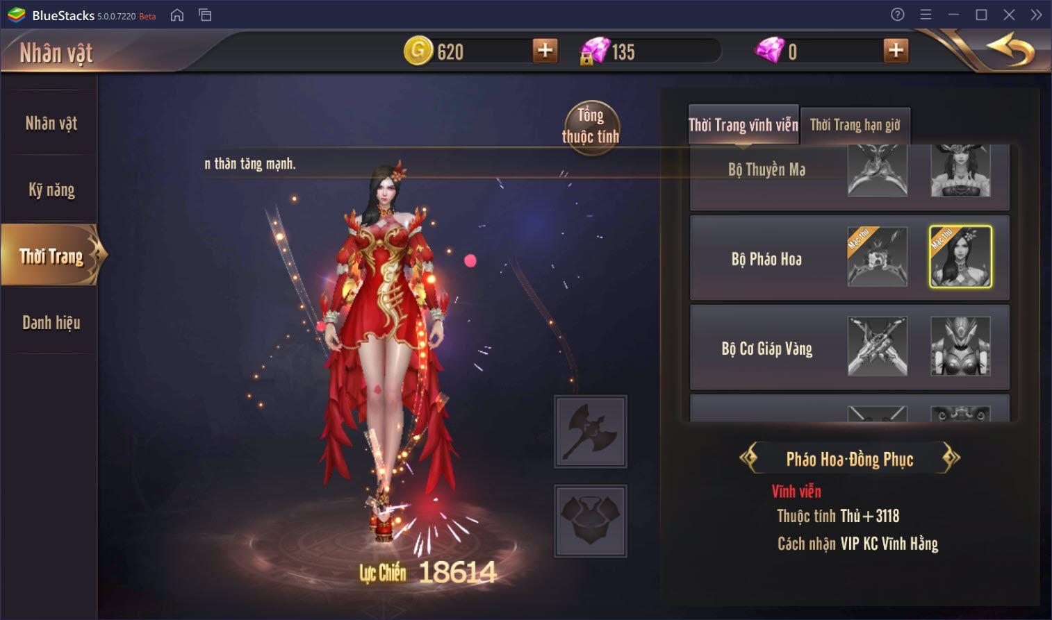Hướng dẫn nâng cấp cường hóa nhân vật trong Vương Thần Mobile