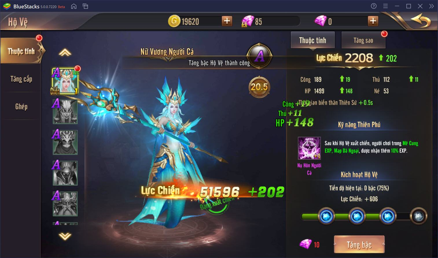 Vương Thần Mobile: Cách để tăng cấp nhanh nhất cho nhân vật của bạn