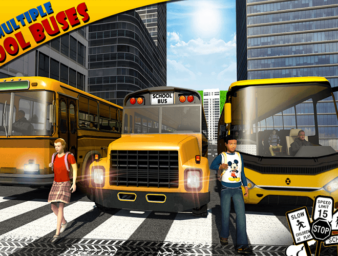 Play School bus Driver 3D on PC 15