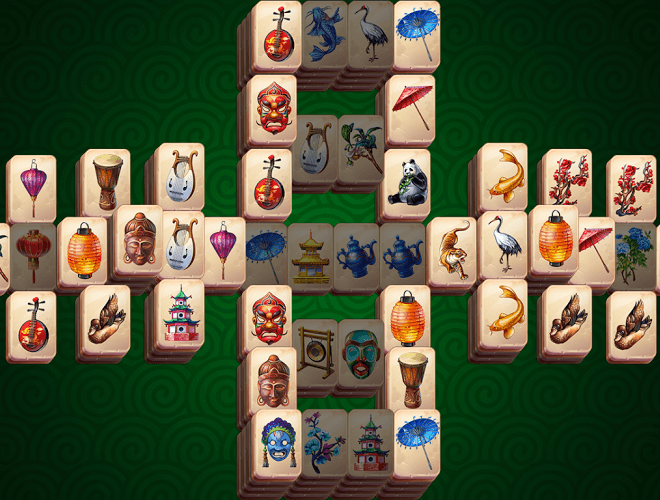 Play Mahjong Solitaire Epic on PC 3