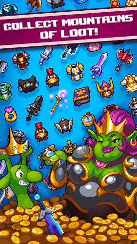 Играй Dash Quest Heroes На ПК 4