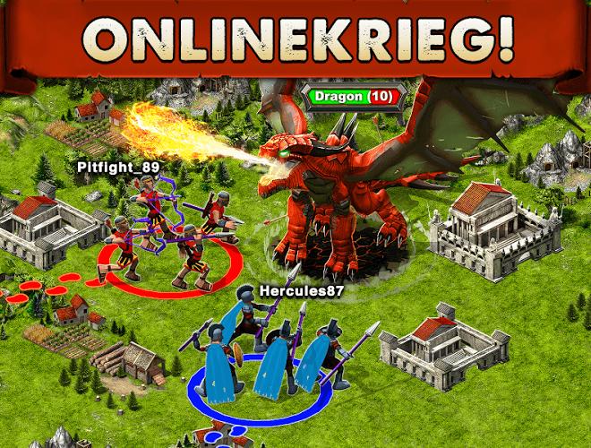 Spiele Game of War auf PC 10