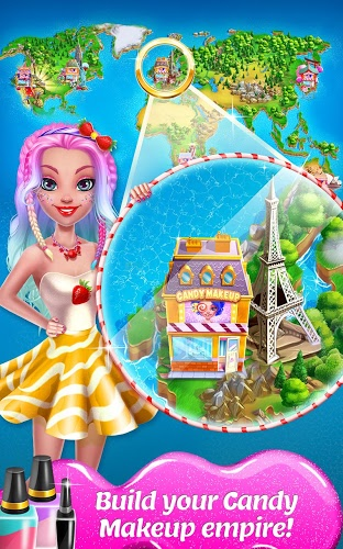 Play Candy Makeup – Sweet Salon on PC 14