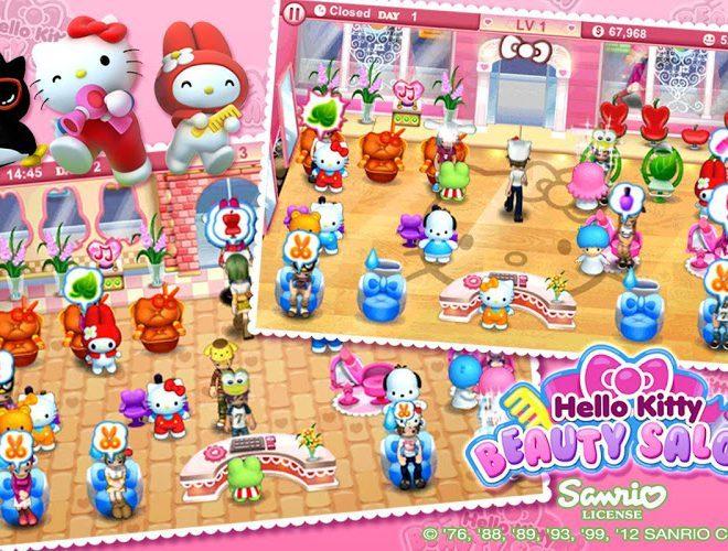 เล่น Hello Kitty Beauty Salon on PC 9