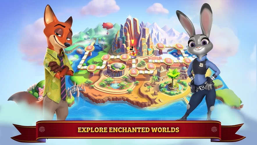 Play Disney Magical Dice : The Enchanted Board Game on PC 5
