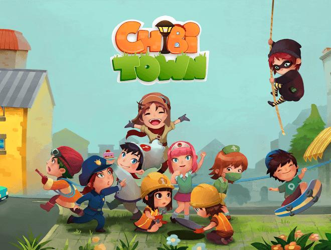 เล่น Chibi Town on PC 8