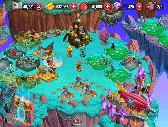 Chơi Monster Legends on pc 13