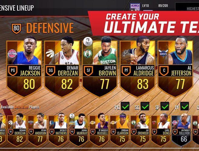 เล่น NBA LIVE Mobile on PC 11