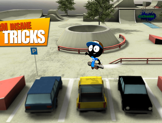 Play Stickman Skate Battle on PC 5