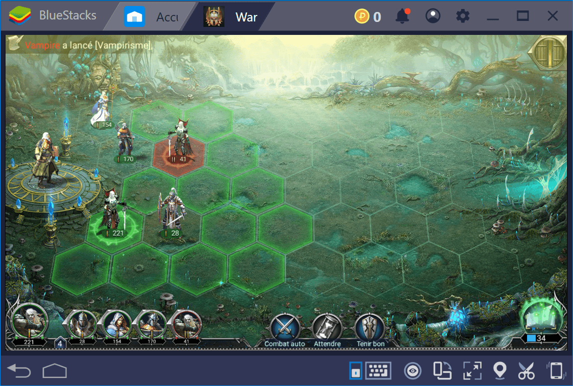 Guide sur les créatures de la carte du monde dans War and Magic Partie 1