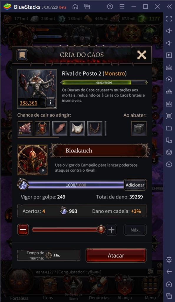 Destrua seus inimigos em Warhammer: Chaos & Conquest com as ferramentas do BlueStacks