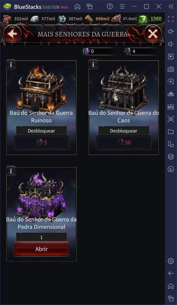 Como aumentar o seu poder em Warhammer: Chaos & Conquest
