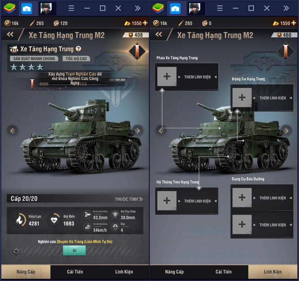Mẹo phát triển quân sự trong Warpath
