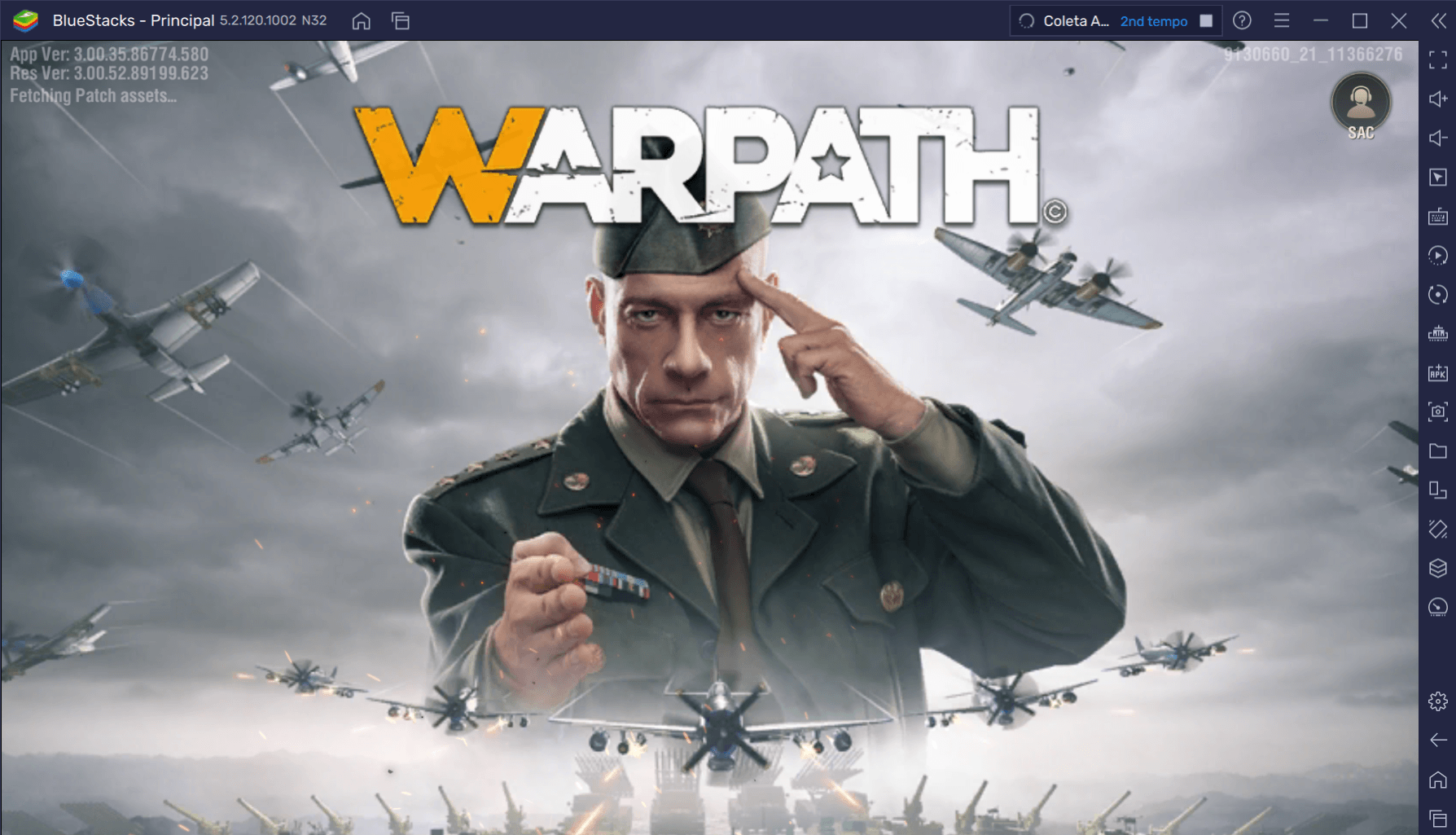 Como jogar Warpath no PC com BlueStacks