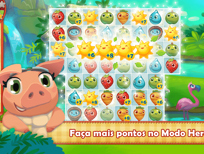Jogue Farm Heroes para PC 15