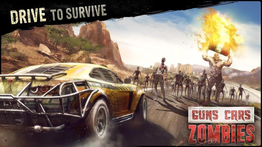 Играй Guns, Cars, Zombies На ПК 3