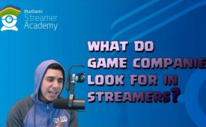 What do game companies look for in streamers? 1