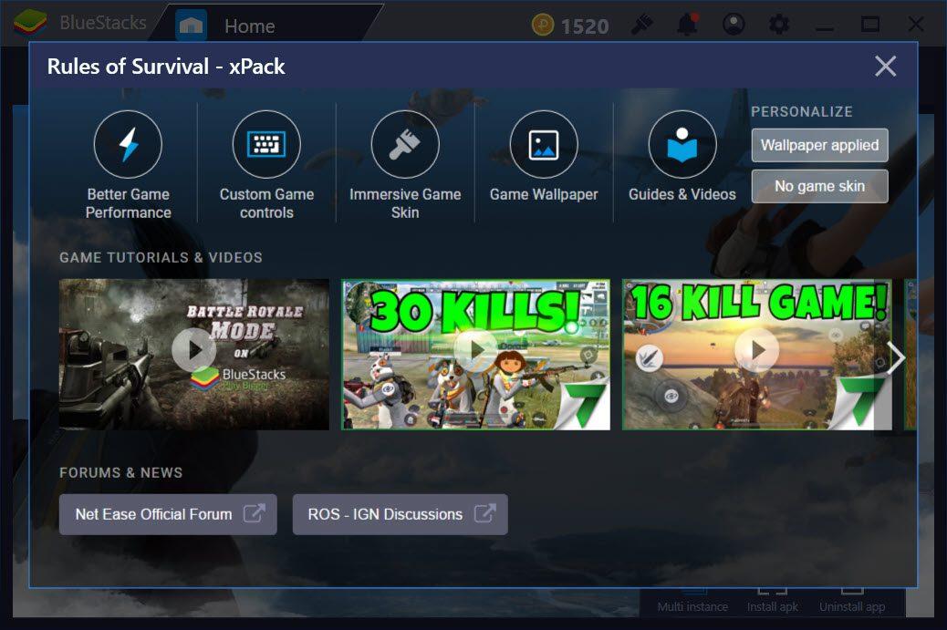 Lợi thế khi chơi Rules of Survival trên PC so với di động