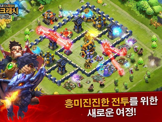 즐겨보세요 Castle Clash on PC 3