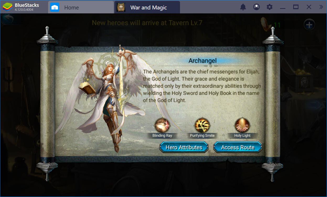 Cách chơi cơ bản War and Magic dành cho người mới