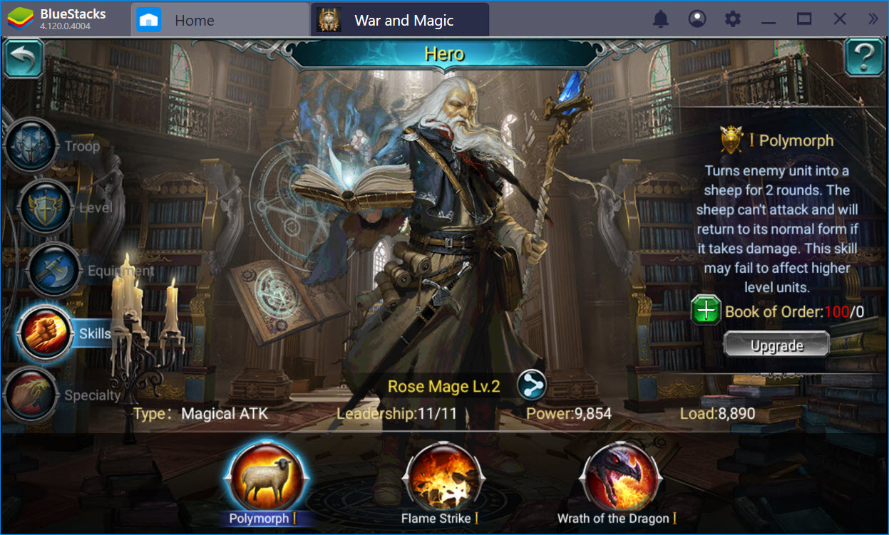 Trải nghiệm War and Magic trên PC cùng BlueStacks