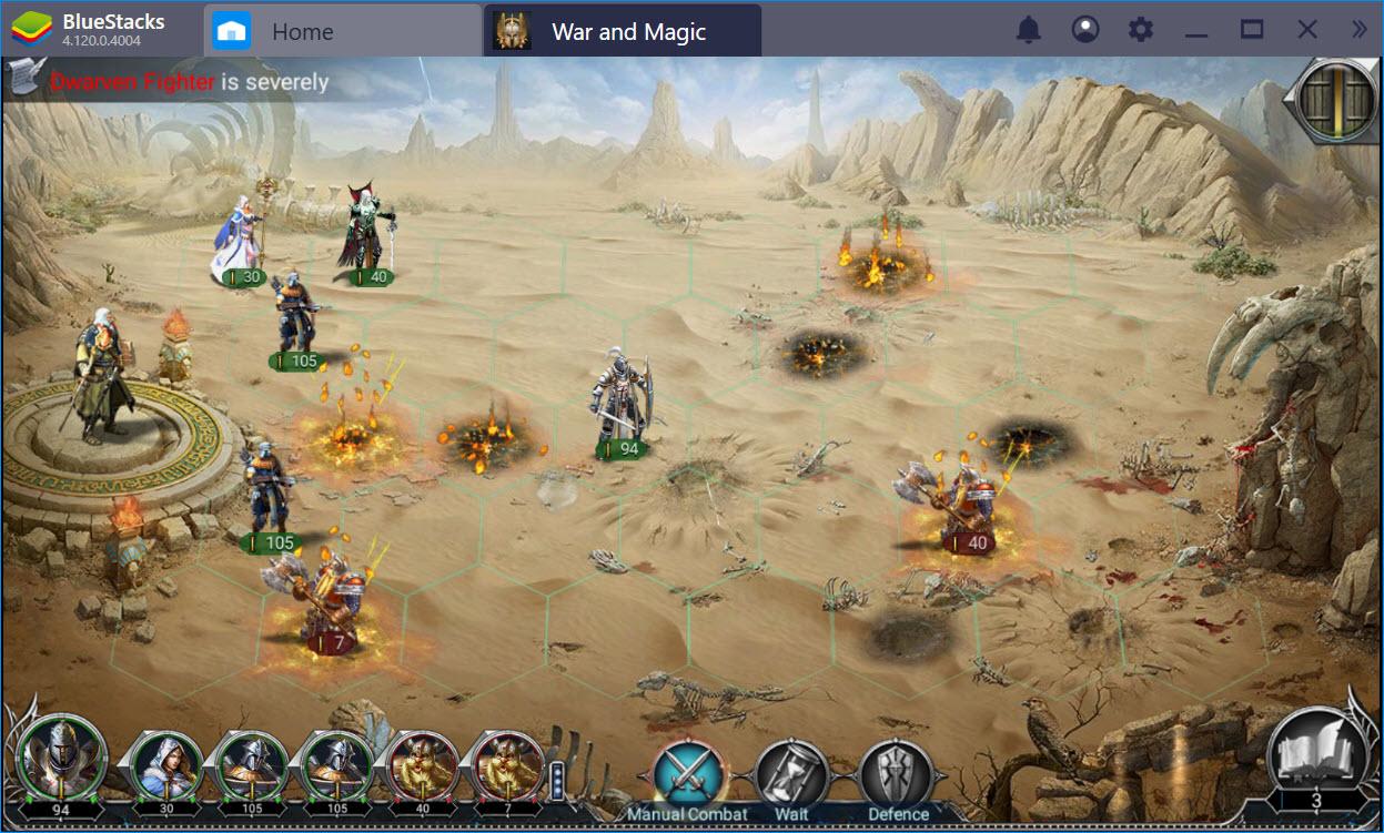 Trải nghiệm War and Magic trên PC cùng BlueStacks