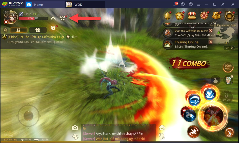 Mẹo lên cấp nhanh khi chơi World of Dragon Nest
