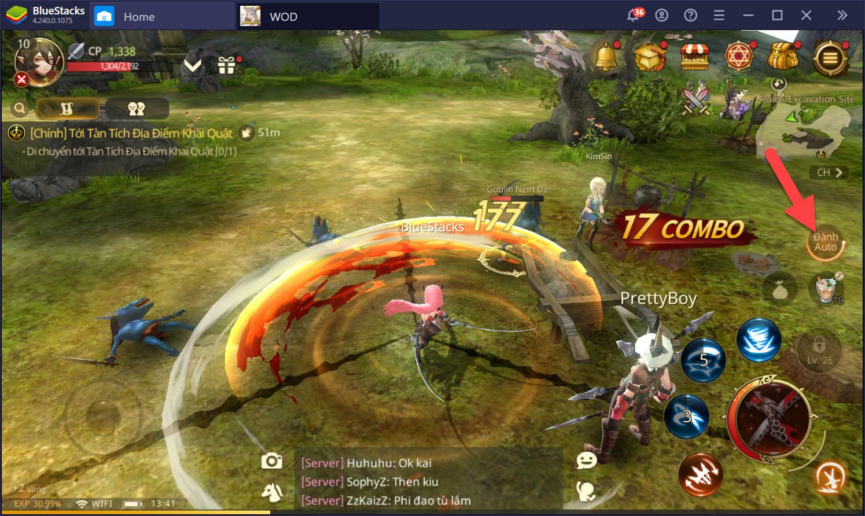 World of Dragon Nest: Hướng dẫn thiết lập Keymapping với Game Controls