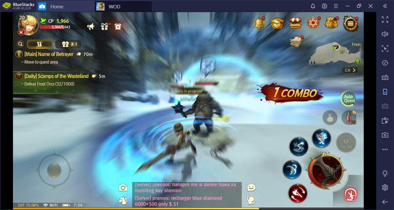 Tips Meningkatkan Combat Power dengan Cepat di World of Dragon Nest