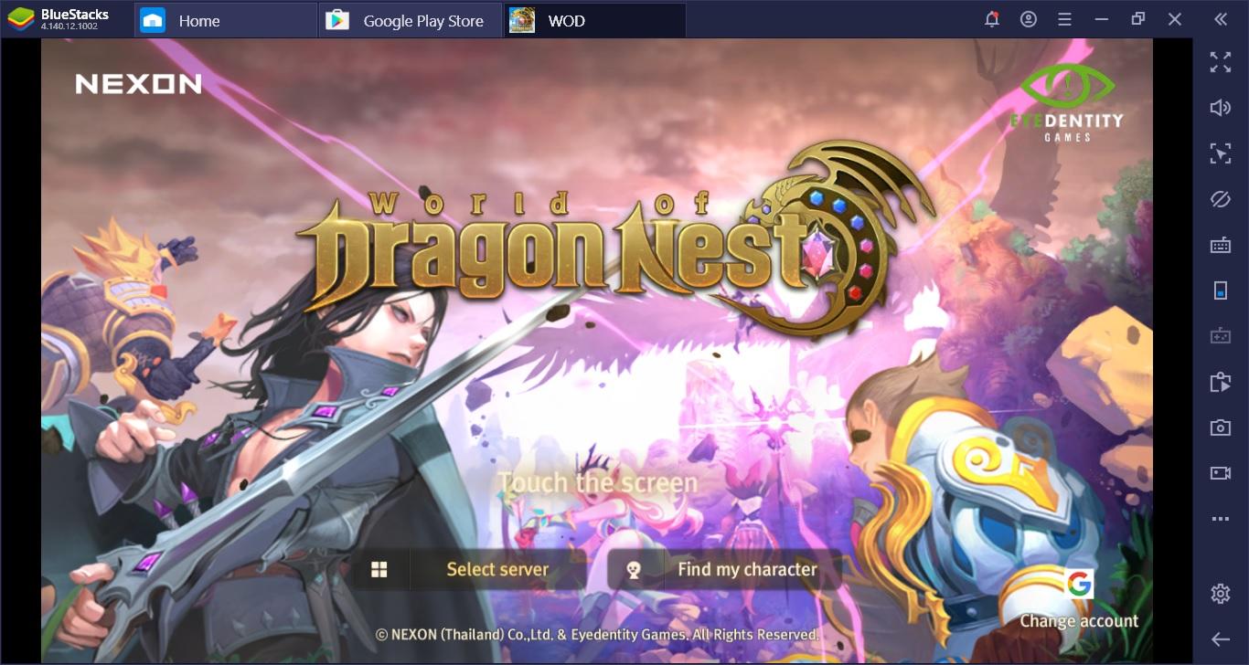 เพราะอะไรถึงต้องเล่น World Of Dragon Nest ผ่าน BlueStacks