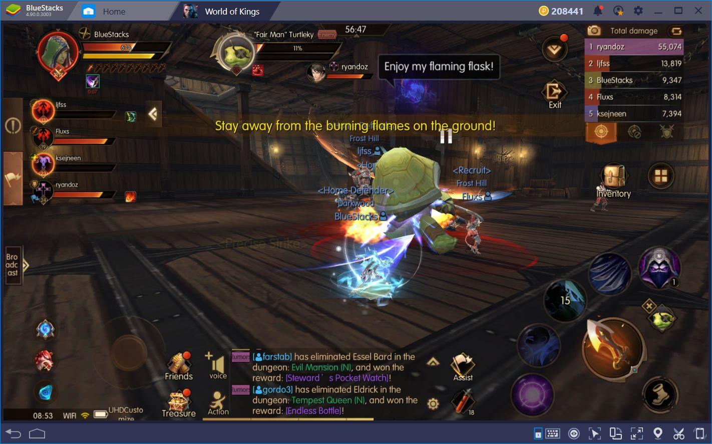 World of Kings Taktikler ve İpuçları BlueStacks Farkıyla Sizlerle