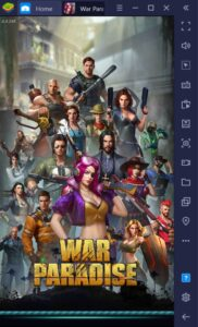 How to Play War Paradise: Lost Z Empire on PC with BlueStacks