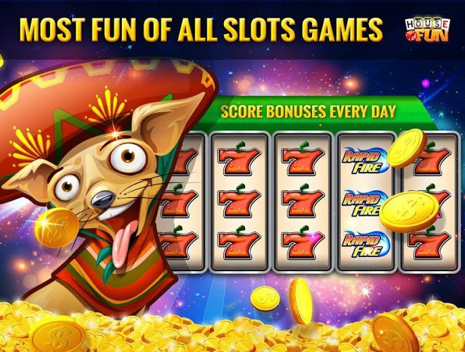 Jogue House of Fun Slot Machines on pc 6